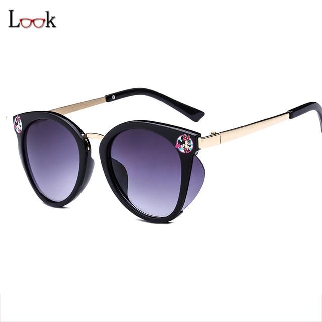 77da8c0f7a 2018 New Fashion Boys Girls Kids Sunglasses Cartoon Style Brand Design Children  Sun Glasses 100%