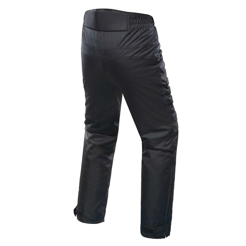 DUHAN Pantalon de Moto Hommes Coupe-Vent équipement de protection Motocross Pantalon Moto Pantalon de cyclisme Pantalon Moto Pantalon Avec Genou - 2
