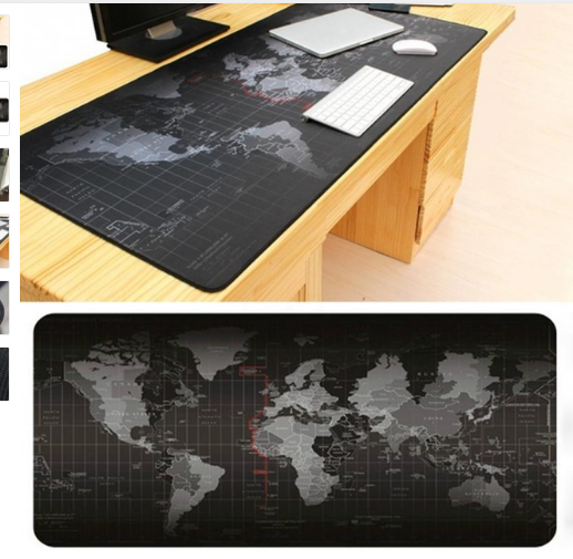 2017 New Fashion Old World Map Mouse Pad Large Pad for Mouse Notbook Computer Mousepad Gaming Mouse Mats for Mouse Game image