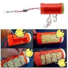 Cluster Bomb Proof Hanging Explosion Hook Fishhooks Carbon Steel Plastic Box Bait Holder Fishing Hooks Set