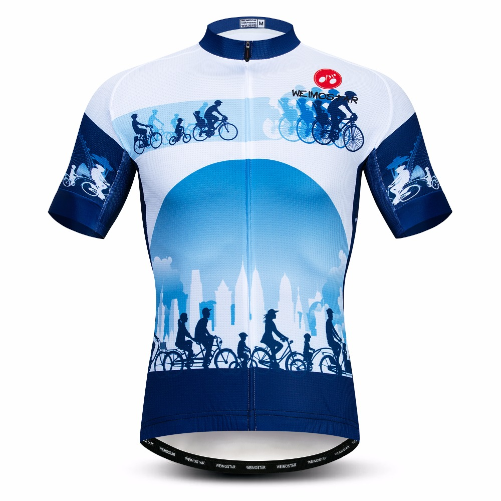 2019 Cycling Jersey Men's Bike Jersey Summer Pro MTB Shirts Short Sleeve Team Maillot Ciclismo Top Racing Bicycle Jersey Summer