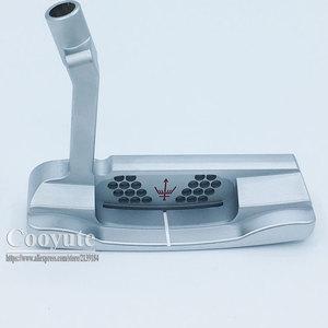 Image 3 - Cooyute新ゴルフヘッドジョージスピリッツMONO1 限定ゴルフパターhaeds tシルバーパタークラブヘッドなしゴルフシャフト送料無料