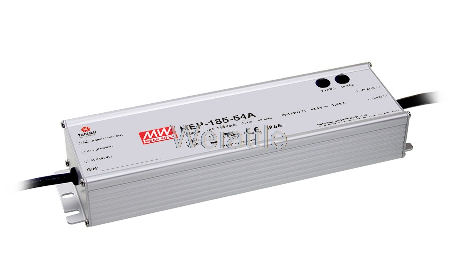 цена на MEAN WELL original HEP-185-54 54V 3.45A meanwell HEP-185 54V 186.3W Single Output Switching Power Supply