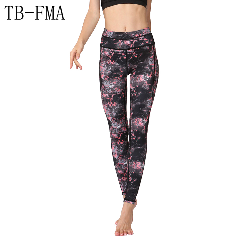 Women Sexy Yoga Pants High Waist Stretchy Dry Fit Sports Leggings Gym Workout Fitness Running Tights Compression Yoga Sportswear