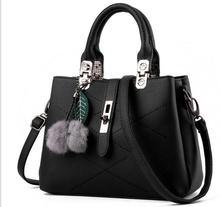 2016 European&American style Versatile women handbags fashion concise ladies solid crossbody bags totes single bags