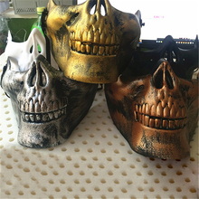 Новое поступление Череп Половина лица Хэллоуин Новая акция Череп Половина лица CS Скелет воин 3 поколения Маскарадная маска