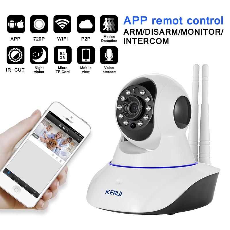 Kerui android ios app uzaktan kumanda wifi gsm pstn üç bir ev - Güvenlik ve Koruma - Fotoğraf 2