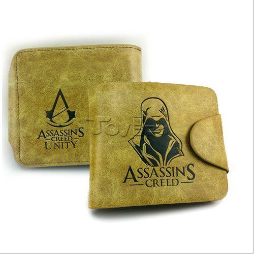 Promotional assassin creed black flag leather wallet online game around men bag gift