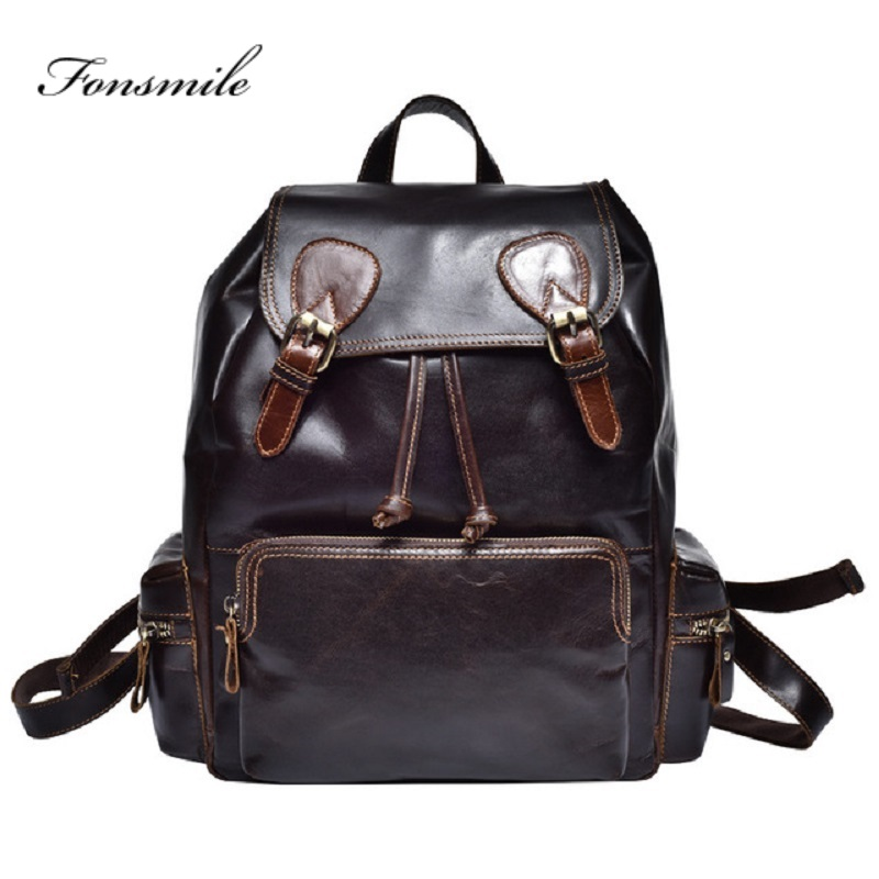 T021 New Fashion Genuine Leather Man Backpack Women Multifunctional Soft Cow Leather Rucksack School Bags Travel BackpacksT021 New Fashion Genuine Leather Man Backpack Women Multifunctional Soft Cow Leather Rucksack School Bags Travel Backpacks