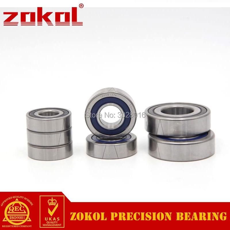 ZOKOL bearing 7602025 TN 2RS P4 TBT C 760205 2RSTBT Axial Angular Contact Ball Bearing 25*52*15mm zokol bearing 5317 2rs 3317 2rz 3056317 axial angular contact ball bearing 85 180 73mm