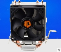 High Quality 80mm Fan 2 Heatpipe TDP 95W For LGA 775 1150 1151 FM2 FM1 AM3