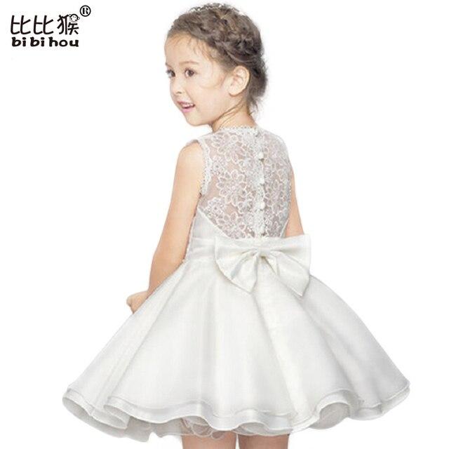 3-10yrs Girl Dress Summer High Quality Lace Ballet Dance Dress Baby Girl Bridesmaid Wear Princess Dress Girls Clothes Kid Party