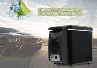 6L Vehicle Refrigerator Portable Mini Car Fridge Freezer Dual use Cooling Warming Icebox Home Travel Camping Refrigerators 4Hole