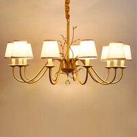 JJD New Modern Chandelier For Livingroom Bedroom Indoor Lamp E14 Chandelier Lighting Chandeliers Ceiling