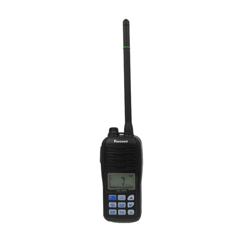 Étanche Interphone 80CH IP-X7 Flash et Flotteur De Poche VHF 156.000-161.450 MHz Radio Maritime RS-36M