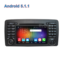 Quad core 1024*600 Android 5.1.1 Car DVD Player for Mercedes/Benz R Class W251 R280 R300 R320 R350 R500 with Radio GPS WiFi BT