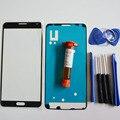 Передняя Внешний Стеклянный Объектив Панель для Samsung Galaxy note 3 N9005 N900 Запасные Части и LOCA клея и Инструментов и клей