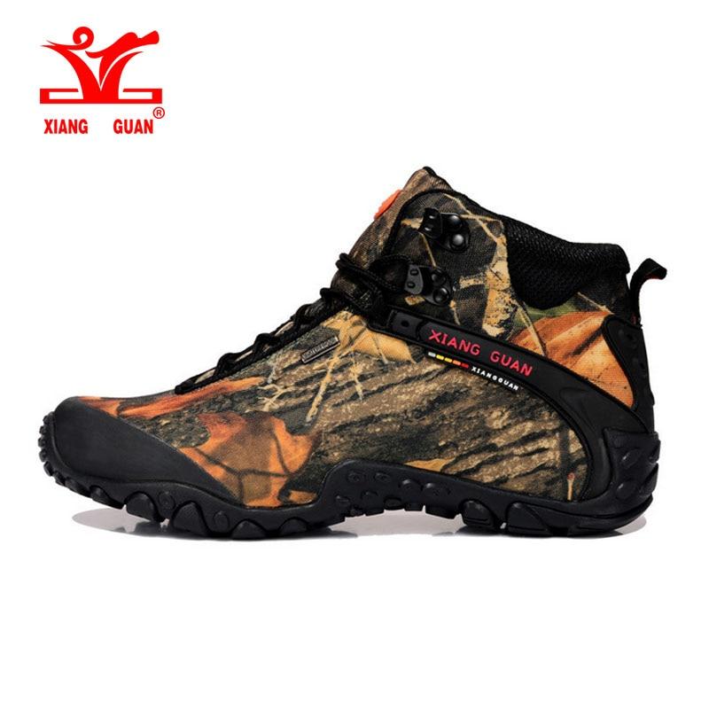 2017 xiangguan Man Outdoor Hiking Shoes Waterproof Breathable For Women Climbing Tourism Trekking Sneakers Boots EUR SIZE 36-48 xiangguan man hiking shoes waterproof outdoor climbing men trainers trekking sneaker breathable 40 48 plus size us 12 13 14 15