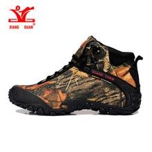 2017 Xiangguan человек открытый Треккинговые ботинки Водонепроницаемый дышащий для Для Женщин Восхождение Туризм походы Спортивная обувь Сапоги и ботинки для девочек европейские размеры 36-48