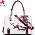 Atrra-Yo! diseñador bolso de las mujeres de marcas famosas Mujeres de la impresión Bolsas de Mensajero de Las Mujeres 2016 Bolsos de la vendimia de las señoras bolsas LM3430ay