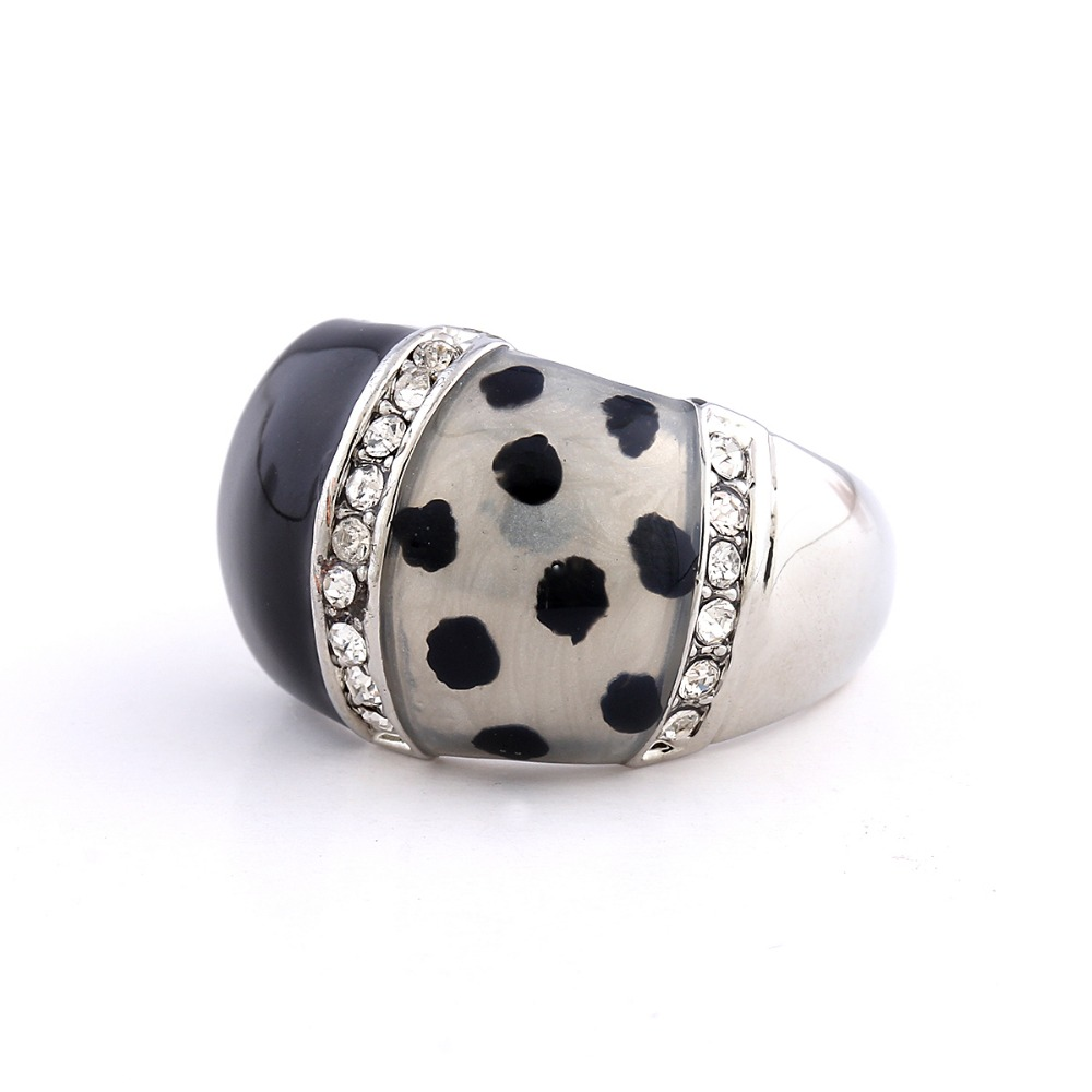 Mens Wedding Party Gifts: Top Quality Mens Rings Bohemia Plated Asutrian Crystal