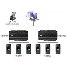 inbio460 4 doors door access controller TCP/IP 3000 users biometric fingerprint access control panel access control board
