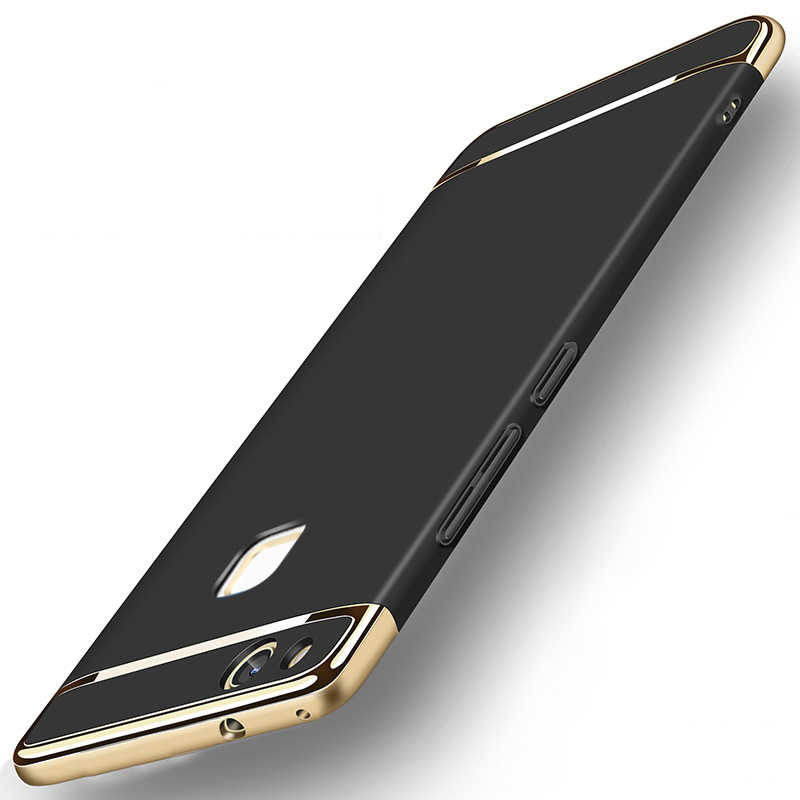 Huawei P10 Lite Case Huawei P10 Lite Cover Case 3 in 1 Luxury Ultra Thin Mofi Protective Armor Black Back Huawei P10 Lite Case in Fitted Cases from Cellphones Telecommunications