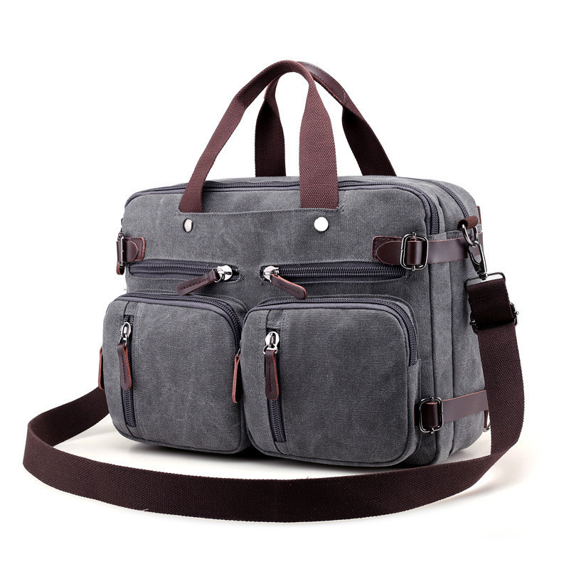 Men Canvas Bag Men Crossbody Bags Messenger Men's Travel Shoulder Bags Tote Laptop Briefcases Handbags augur men s messenger bag multifunction canvas leather crossbody bag men military army vintage large shoulder bag travel bags