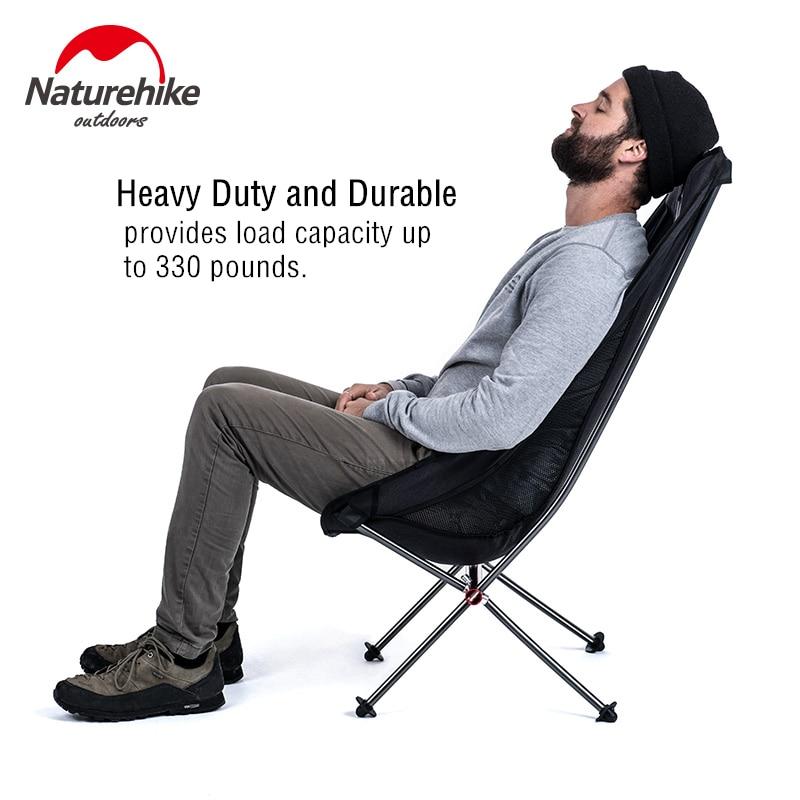 Naturerandonnée ultra-léger Compact Portable en plein air pliant pêche pique-nique chaise plier chaise de plage pliable Camping chaise siège