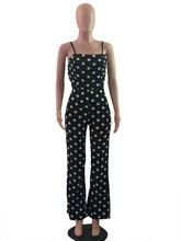 Summer Womens Jumpsuit Floral Print Wide Leg Pants Long Sexy Backless Strappy Playsuit Romper Women Sleeveless