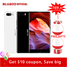 "Bluboo S1 5.5"" FHD Smartphone MTK6757 Octa Core Full Display 4GB RAM 64GB ROM Android 7.0 Dual Rear Camera 4G Mobile Phone OTG"