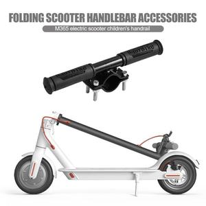 For M365 Scooter Handle Grips Folding Scooter For Xiaomi M365 ES2 ES4 Universal Handbar Silicone Stainless Steel for Children(China)
