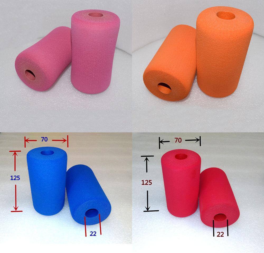 2pcs Bicycle Bike Smooth Tube Sponge Foam Rubber Handlebar Grips Hot RF