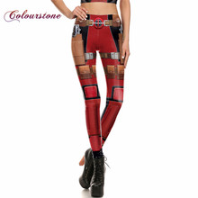 COLOURSTONE Ladies Trousers Leggings 3D Printed Cosplay Costume Anime Star Wars Leggins For Red Woman pants Legins Spandex