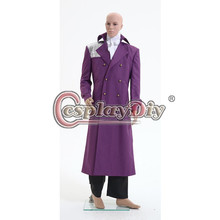 Cosplaydiy Custom Made New Arrival Purple Rain Clothes Prince Rogers Nelson Coat Shirt Pants Outfits Cosplay Costume D0523
