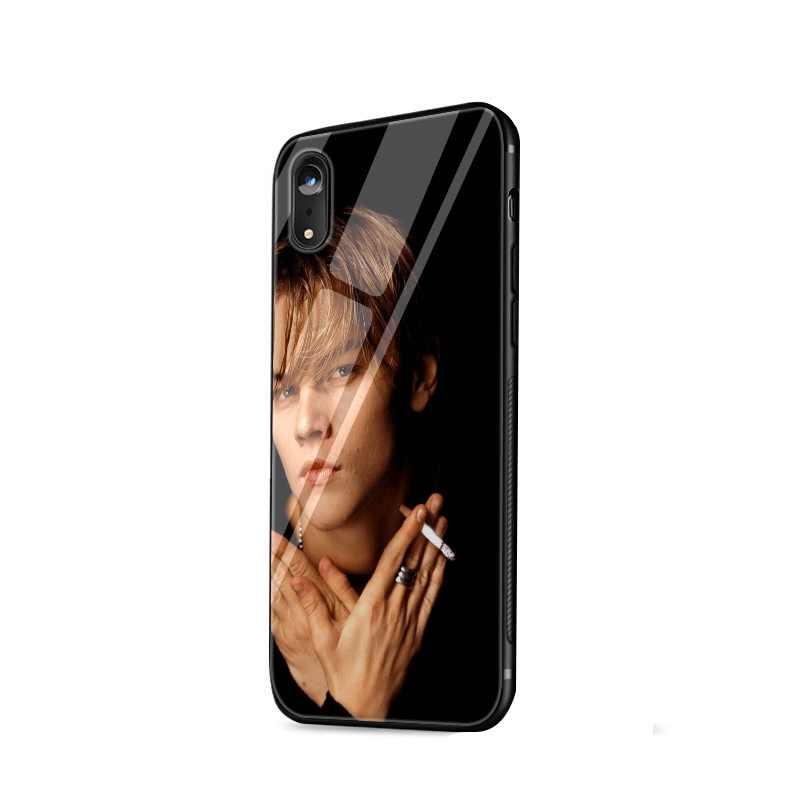 Legal leonardo dicaprio jovem tpu caso para iphone 11 pro xr x xs max 5 5S 6s 7 8 plus capa proteção