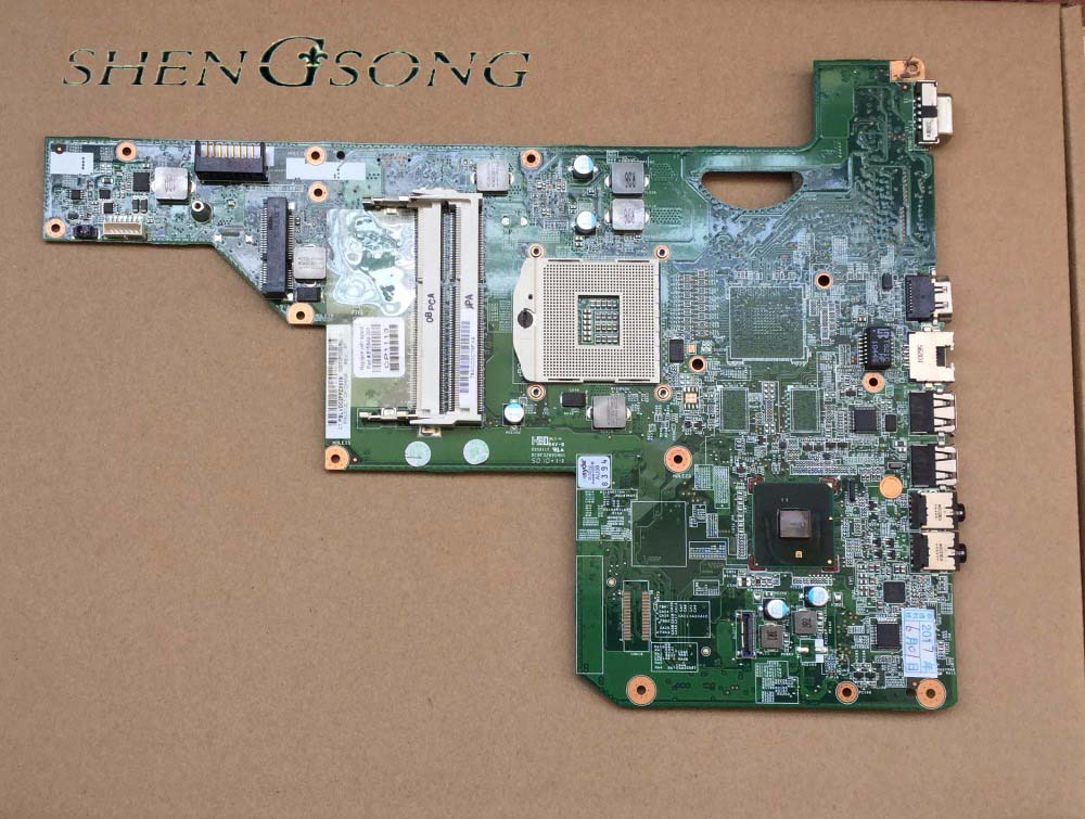 Free shipping laptop mainboard 615849-001 for HP G72 G62 motherboad 01013y000-600-G fully test top quality for hp laptop mainboard 574508 001 4410s 4411s 4510s 4710s laptop motherboard 100