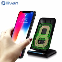 OLLIVAN Universal QI Wireless Charger 5V 2A Smart USB Quick Fast Charging Dock For Samsung S8