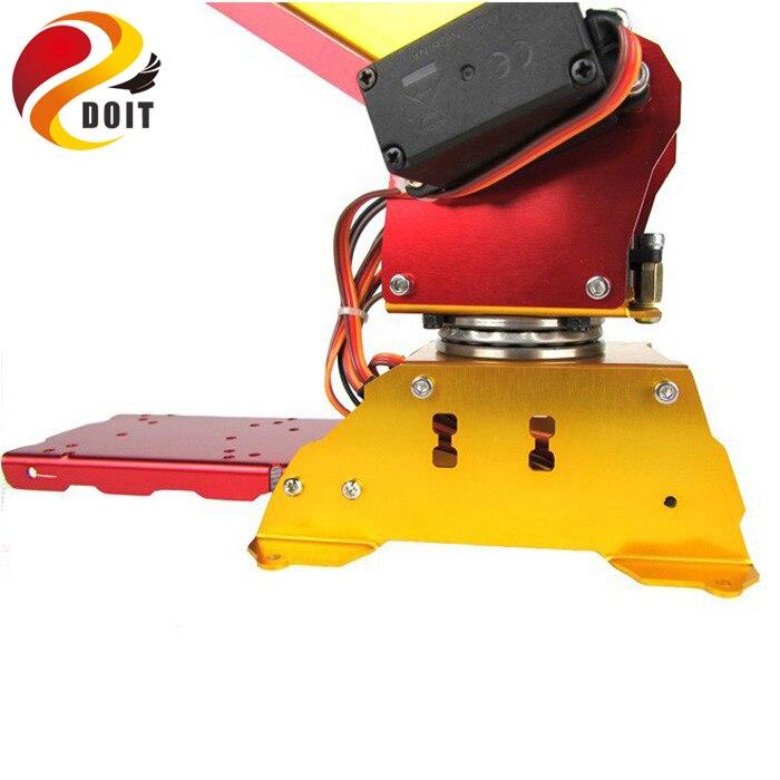 6DOF zasilany pulpit mechanizm równoległy metalowe ramię robota PalletPack ramię robota przemysłowego w Figurki i postaci od Zabawki i hobby na  Grupa 2