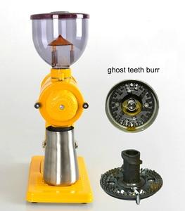 Image 5 - Molinillo de café de 10 velocidades, fresa de dientes fantasma, rectificadora fina gruesa de 220V/ 110V