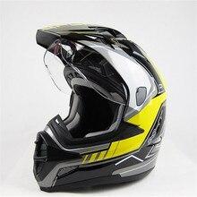 Подлинная мотоциклетный шлем XHT SC-09 внедорожных шлем мужская двойной