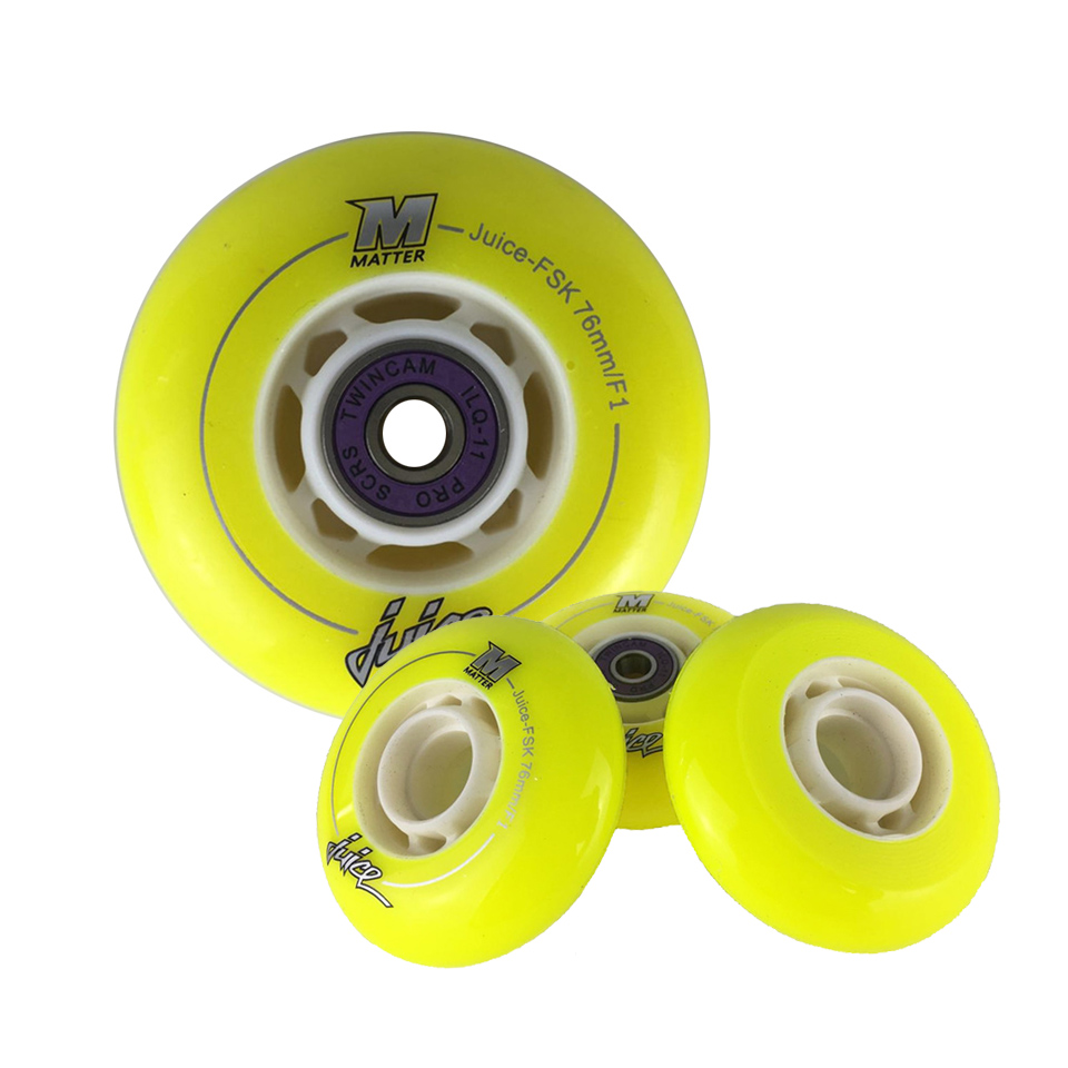 Jeu de patins Japy A/ILQ-11 avec roues Powerslide EVO Matter 84A Slalom/freinage patins à roulettes roue SEBA IGOR Powerslide