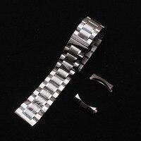 Steel Watchband 14 15 16 17 18 19 20 21 22 24 Mm Metal Polished Brushed
