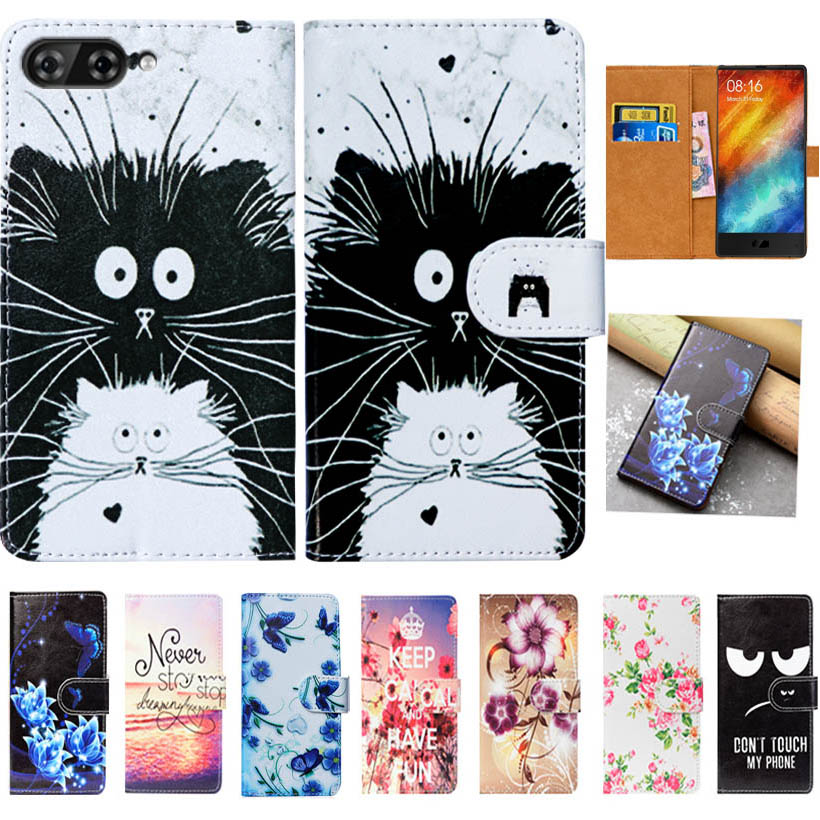 For Maze Alpha Case High Quality Pu Leather 6.0 Print Flip Wallet Case Cover For Maze Alpha Book Case