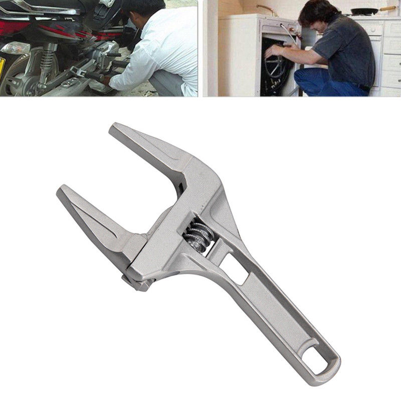 1pcs Adjustable Spanner Universal Key Nut Wrench Home Bathroom wrench Hand Tools Multitool Dropshipping sanrenmu sk015d portable multitool key chain tools