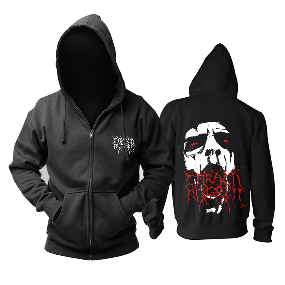 Bloodhoof Carach Angren  Black Metal Band New Black  Cotton Hoodie  Asian Size