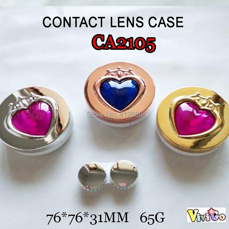 Men's Glasses Apparel Accessories 1pc Cartoon 3d Big Eyes Contact Lenses Box Case Owl Frog Monkey Chicken Animal Shape Contact Lens Case