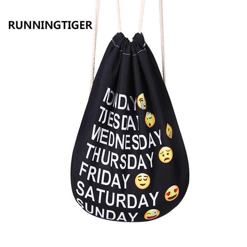 Модные Портативный 3D мешки Drawstring обувь для девочек сумки Высокое качество Макияж сумка унисекс хлопок дорожный футляр для хранения одежды ...