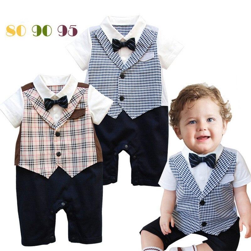 Newborn Baby Boy Summer Clothes