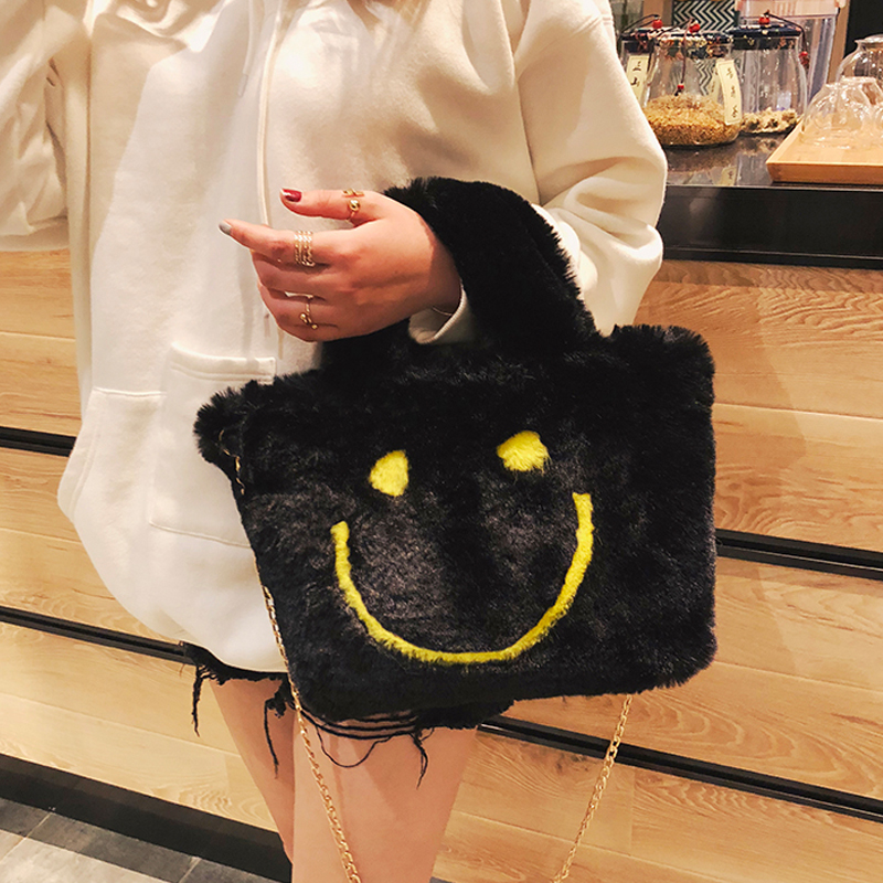 Buy smiley face handbag and get free shipping on AliExpress.com 0903ee5db0f44